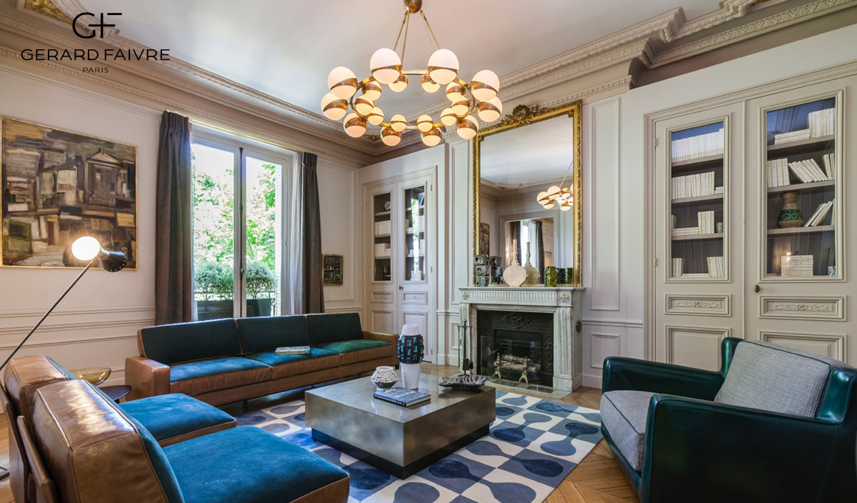 Paris luxury apartments | Architect, Interior Designer ...